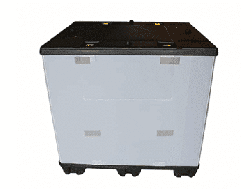 plastic pallet container