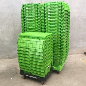 2015 latest plastic folding shipping containers