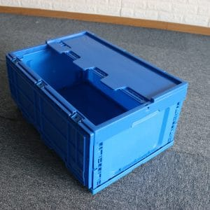 folding crate with wheels