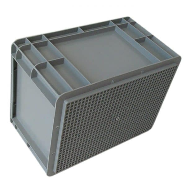 stackable containers with lids